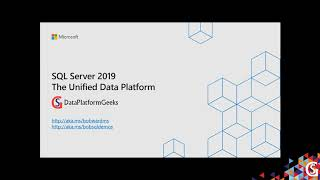 SQL Server 2019 – The Unified Data Platform by Bob Ward