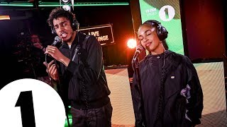 AJ Tracey & Jorja Smith cover Flowers (Sunship Remix) in the Live Lounge