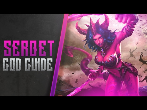 Serqet CURRENT GOD GUIDE: THE BUILD AND TIPS/TRICKS - Smite