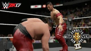 WWE 2K17 Recreation: Shinsuke Nakamura WINS the NXT Title!