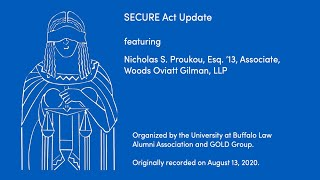 webinar of the SECURE Act