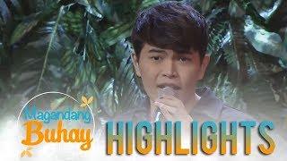 "Magandang Buhay: Daryl Ong gives a heartfelt rendition of ""Stay"""