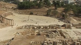 preview picture of video 'The ancient city of Jerash'