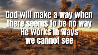 God Will Make A Way | Don Moen