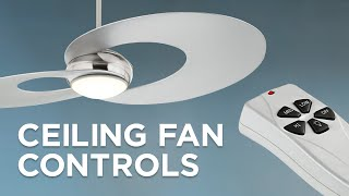 Types of Ceiling Fan Controls