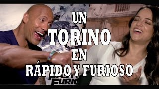 """Dwayne Johnson y Michelle Rodriguez hablan sobre su participación en la nueva entrega de """"Rápid"""