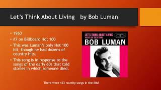 Nine 1960s Novelty Songs