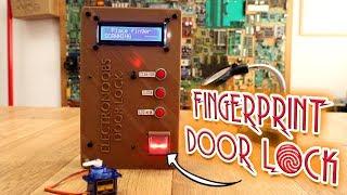 Fingerprint DOOR LOCK With BlackBox Security