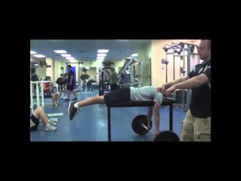 Barbell High Bench Row - Viking Strength Systems