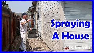 How To Spray A House
