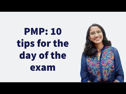 How to crack the PMP: 10 tips for the exam day - YouTube