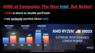 AMD is the New Intel, and they will be a better Market Leader!