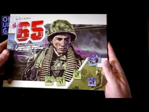 '65: Squad-Level Combat in the Jungles of Vietnam Unboxing by Ones Upon a Game