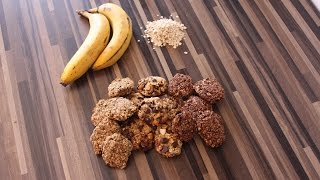 Super schnelle, einfache vegane Hafercookies