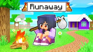 Aphmau RUNS AWAY From Home In Minecraft!
