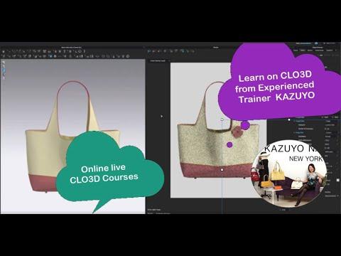 CLO3D] Making a Bag - смотреть онлайн на Hah Life