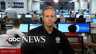 FEMA administrator discusses latest on Hurricane Florence