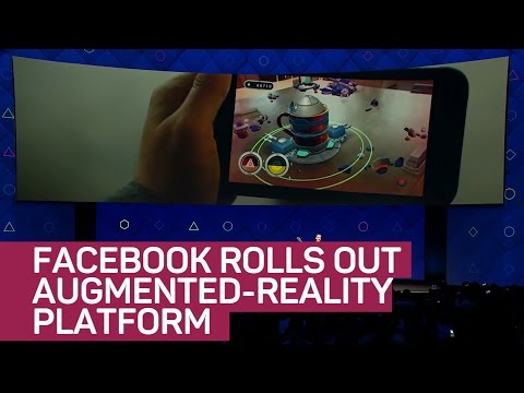 Facebook rolls out augmented-reality camera platform