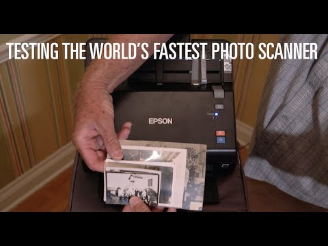 Testing the World's Fastest Photo Scanner: The Epson FastFoto FF-640