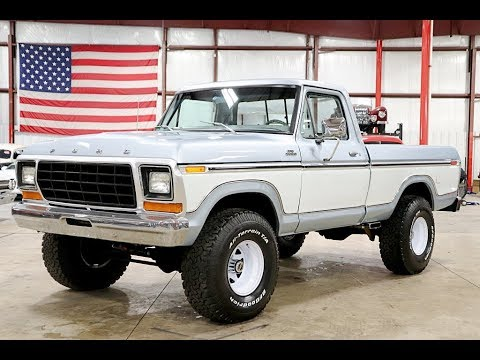 Video of 1978 F150 located in Michigan - $23,900.00 Offered by GR Auto Gallery - Q4L9