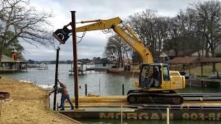 Boat Dock Construction Cedar Creek Lake