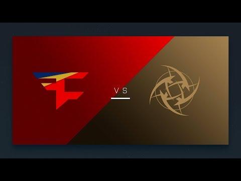 CS:GO - FaZe vs. NiP [Cbble] Map 1 - EU Matchday 14 - ESL Pro League Season 6