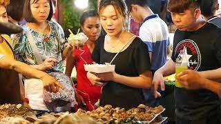 Phuket Street Food - Patong's Banzaan Night Market Seafood Variety