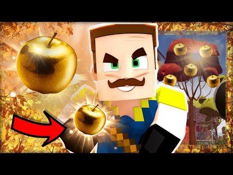 ZAHRADNICKÝ AHOJ SOUSEDE V MINECRAFTU! Vyrostlo Mu Zlaté Jablko?