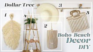 Dollar Tree DIY Boho/Beach Decor