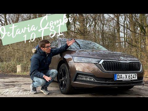 2021 Skoda Octavia Combi 1,0 TSI e-TEC (110 PS MHEV) Fahrbericht [4K] - Autophorie