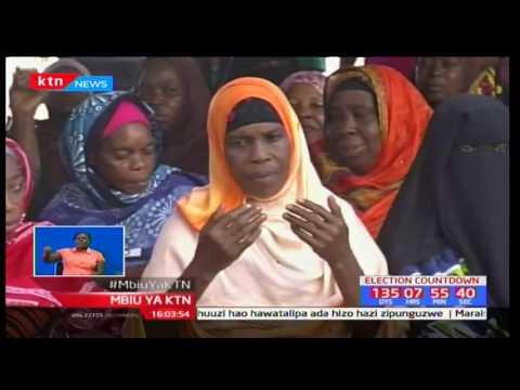 Mbiu ya KTN: Kinara wa CORD Raila Odinga azuru Pwani akitarajiwa Tononoka