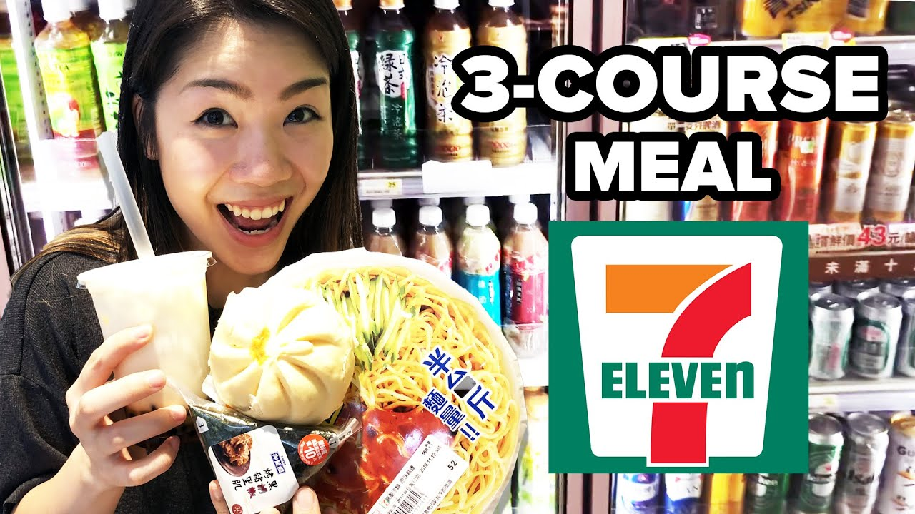 Eating A 3-Course Meal At 7-Eleven thumbnail