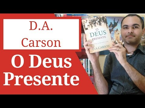 Sorteio da Editora Fiel - D A Carson