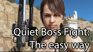 MGS:V TPP - Episode 11 Quiet Boss fight - The easy way for noobs