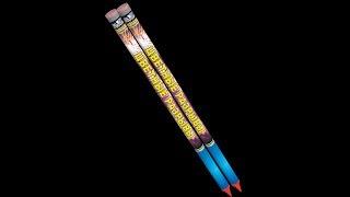 """Римская свеча """"Цветные разрывы"""" RC 002 (0,8""""х8) от компании Интернет-магазин SalutMARI - видео"""
