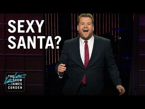 James Corden - Santa Claus je teď víc sexy