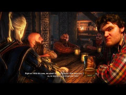 Ведьмак 3 Дикая охота пьянка.