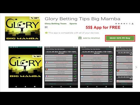 Glory Betting Tips Big Mamba ♥ APK FREE DOWNLOAD |   ◘ تحميل تطبيق mamba مجانا ◘