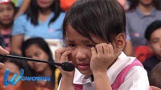 Wowowin: Bibong Grade 1 student, napabilib si Kuya Wil! (with English subtitles)
