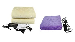 Best  Electric Blanket   Top 5  Electric Blanket For 2020-21   Top Rated  Electric Blanket