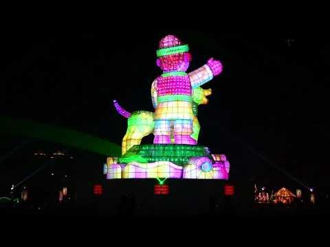 2018台灣燈會彩排開燈