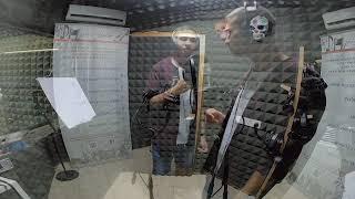 דניאל- הקלטת שיר קאבר באולפני לי-רון (יוני רכטר - דמעות של מלאכים)