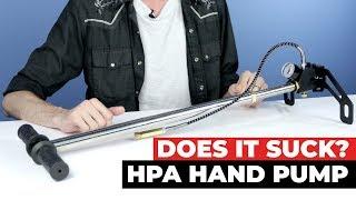 Does it Suck? High Pressure Hand Air Pump Ep. 41