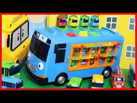 泰路可愛小巴士 Tayo the Little Bus 互動早教汽車玩具