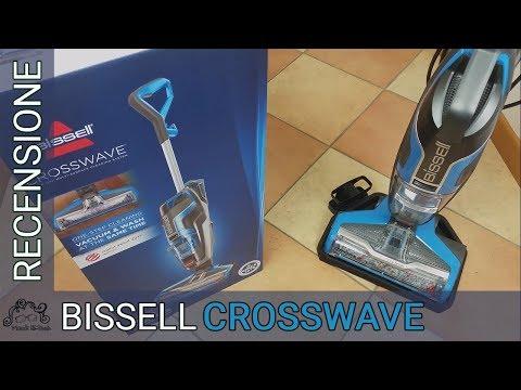 Bissell Crosswave -  Recensione in italiano - Lavapavimenti 3 in 1 - Aspira lava ed asciuga 💪