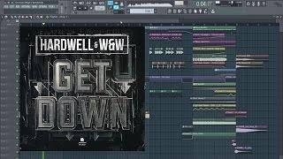 Hardwell & W&W - Get Down FL Studio Remake