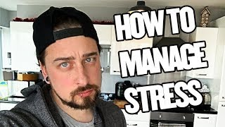 How To Manage Stress INSTANTLY (5 Simple Tips)