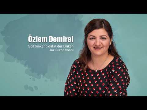 Özlem Demirel (DIE LINKE) - Spitzenkandidatin zur Europawahl 2019