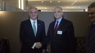 Meeting of Foreign Ministers of Armenia and Iraq