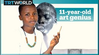 Nigeria's youngest professional artist